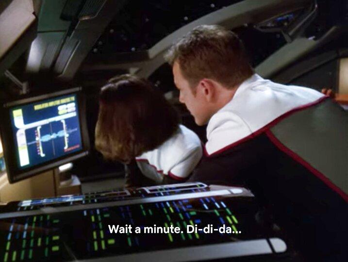 Screengrab aus 146 Das Rennen / Drive (S7E3)